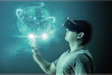 6G生活畅想在家漫步海滩大脑操纵机器情感机器人……